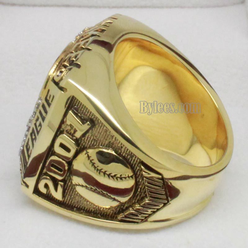 ny yankees championship ring 2001