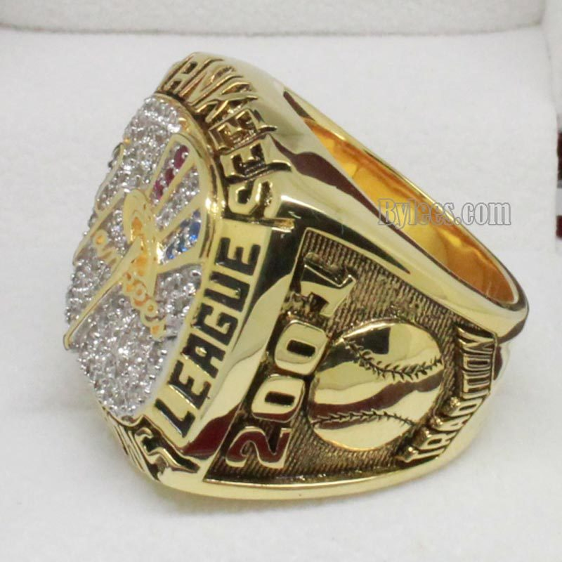 2001 ny yankees championship ring