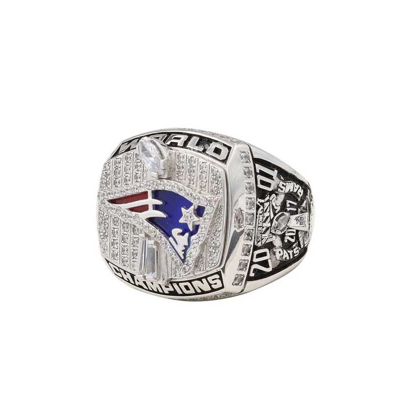 new england patriots rings 2001