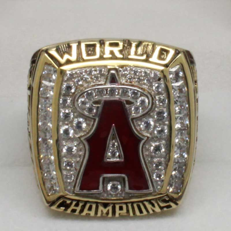 2002 world series championship ring(old version head view)