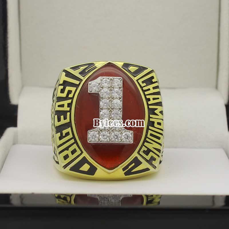 2002 Miami Hurricanes Big East Championship Ring