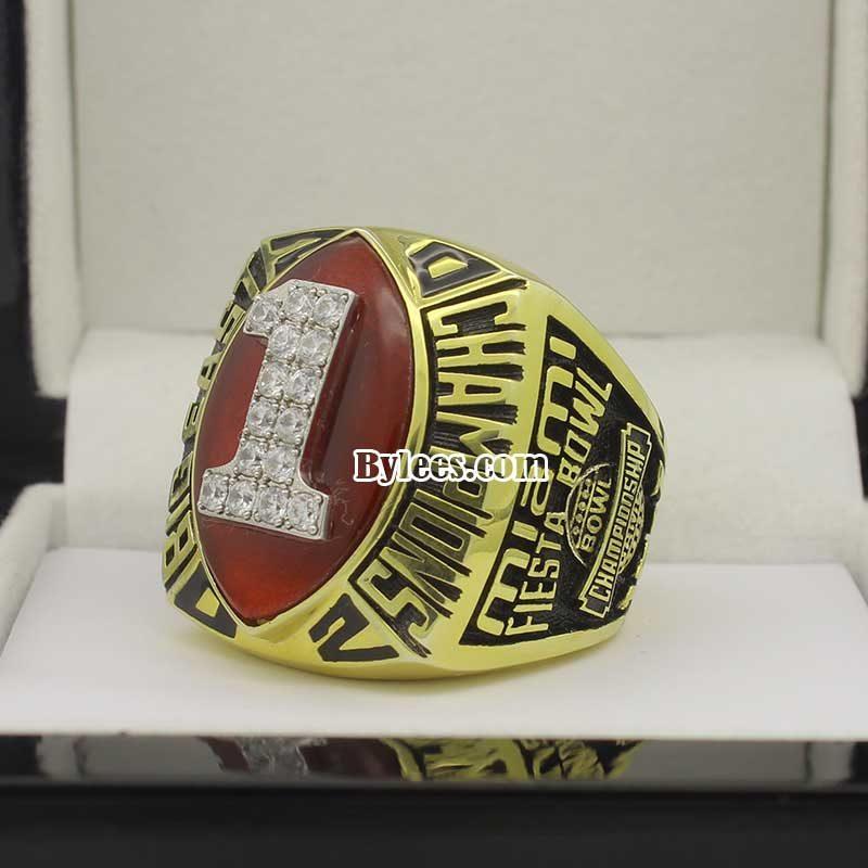2002 Univerysity of Miami Big East Championship Ring