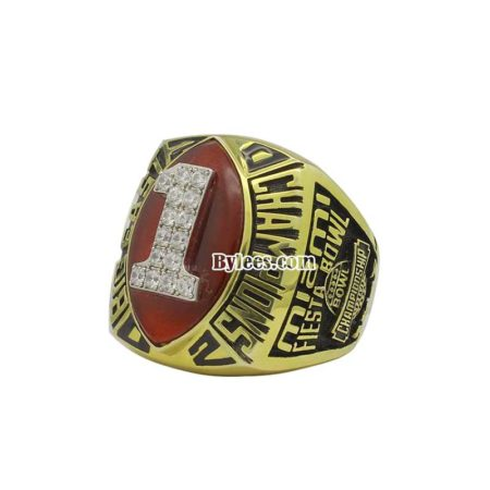 UM 2002 Big East Championship ring