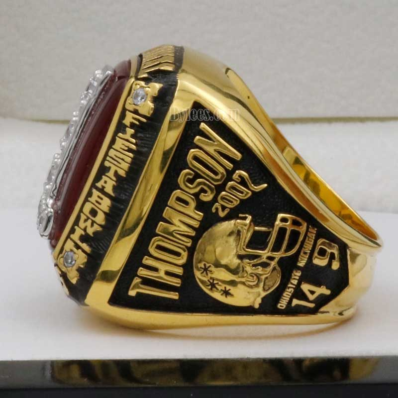 ohio state 2002 national championship ring