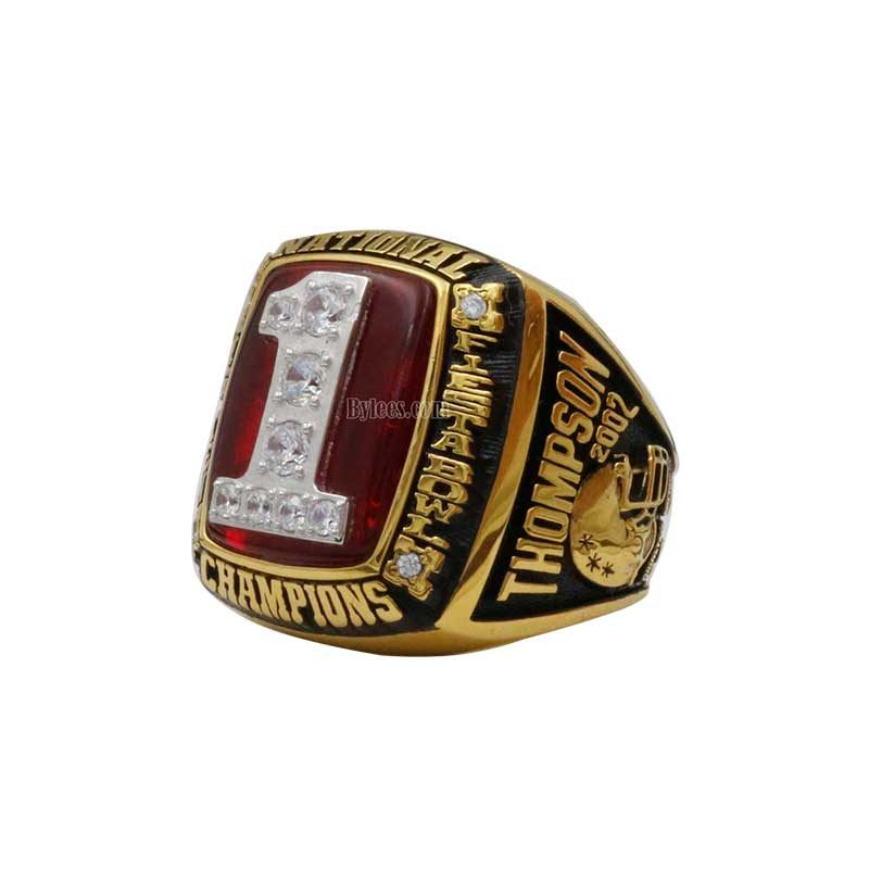 2002 OSU Ohio State Buckeyes National Championship Ring