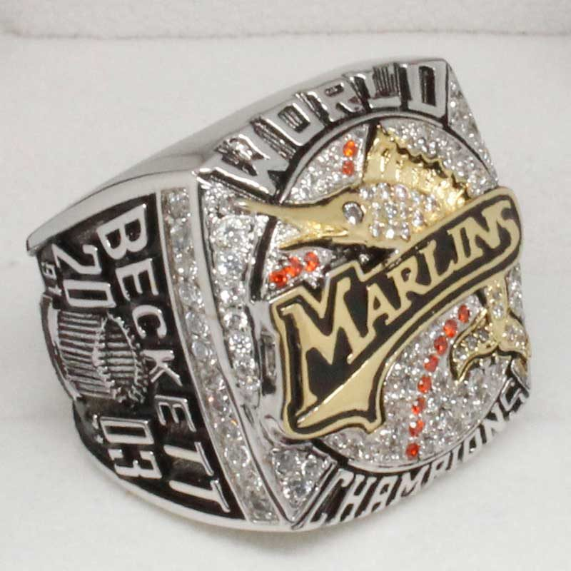 2003 marlins world series ring