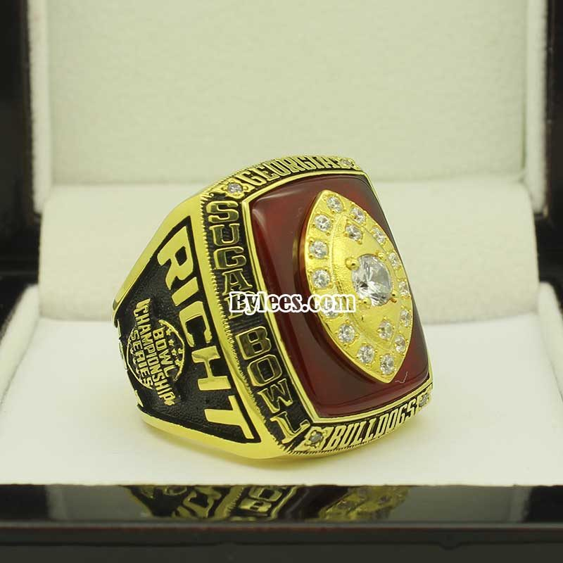 2003 Georgia Sugar Bowl Championship Ring