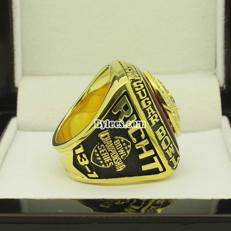 2003 Bulldogs Sugar Bowl Championship Ring