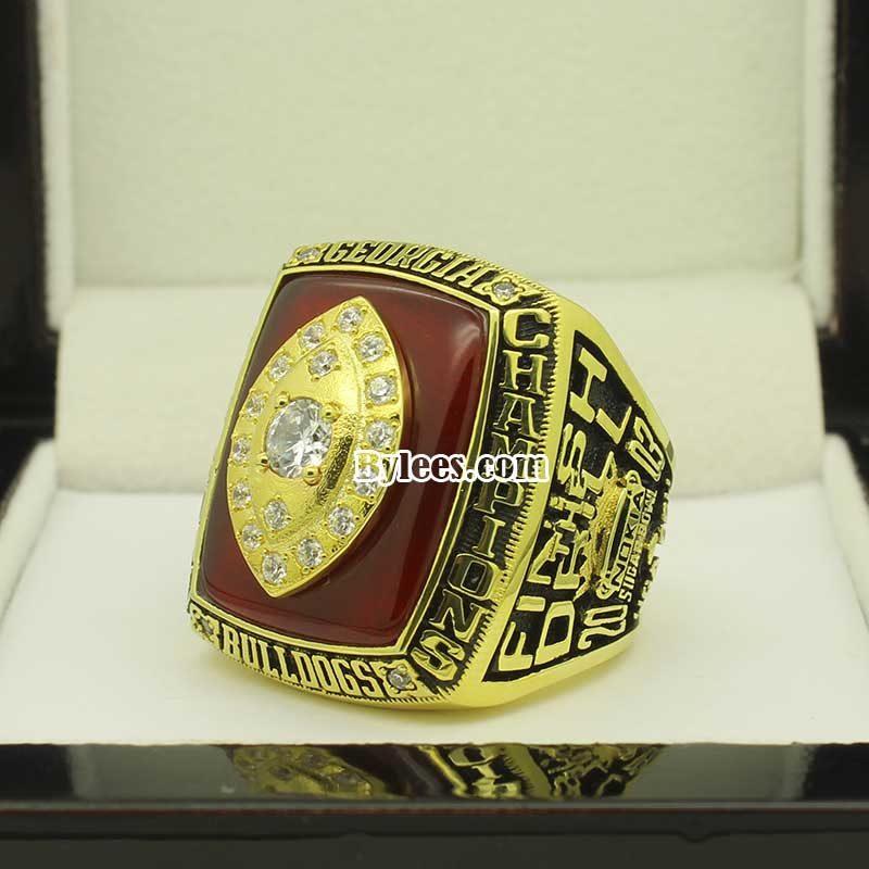 2003 Georgia Bulldogs Sugar Bowl Championship Ring