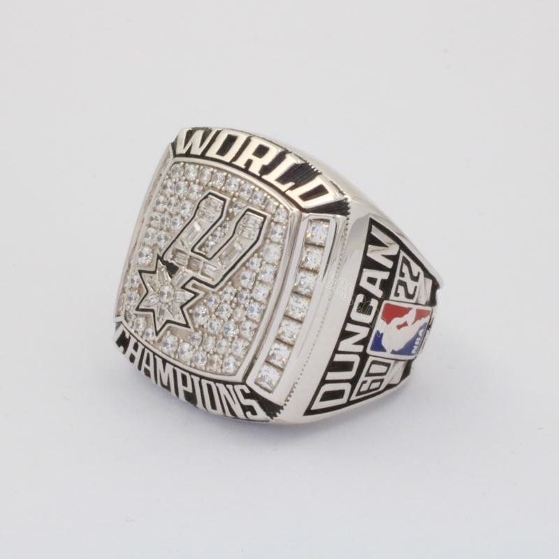 2003 nba finals championship ring