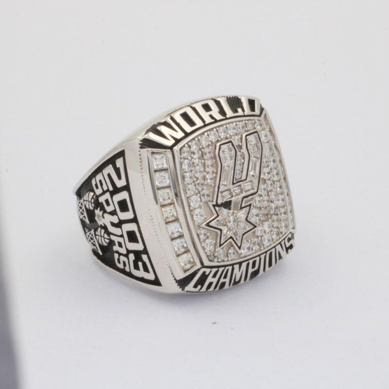 tim duncan 2003 NBA championship rings