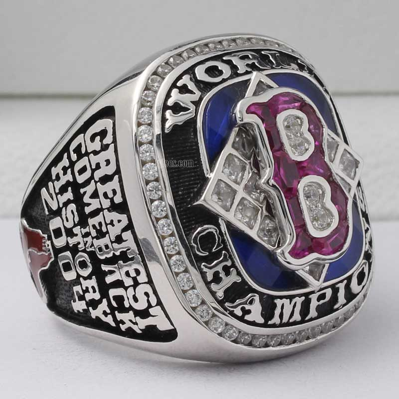 2004 world series ring