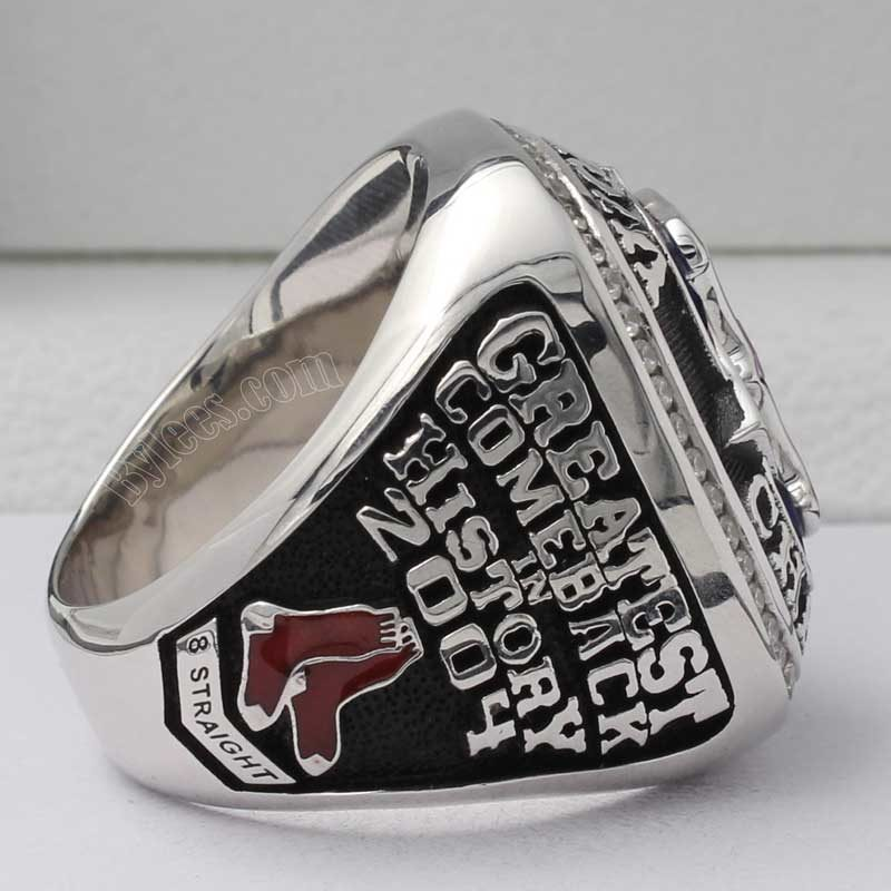 2004 boston red sox ring