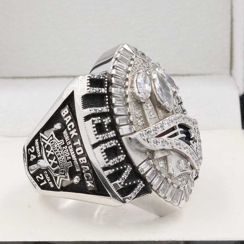 New England Patriots Championship Ring 2004