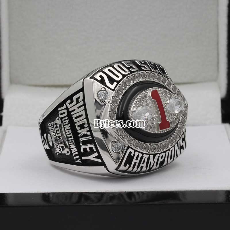 2005 SEC Championship Ring