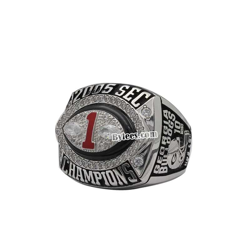 Georgia 2005 sec championship ring