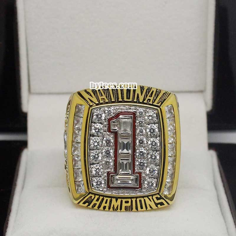 2005 Texas Longhorns Football national championship ring