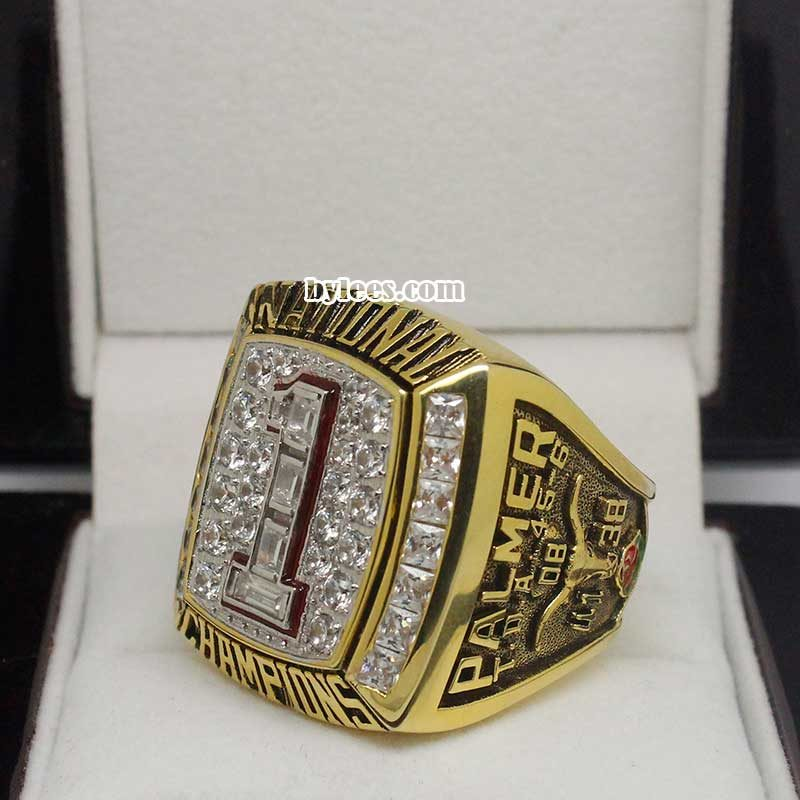 2005 College Football National championship ring