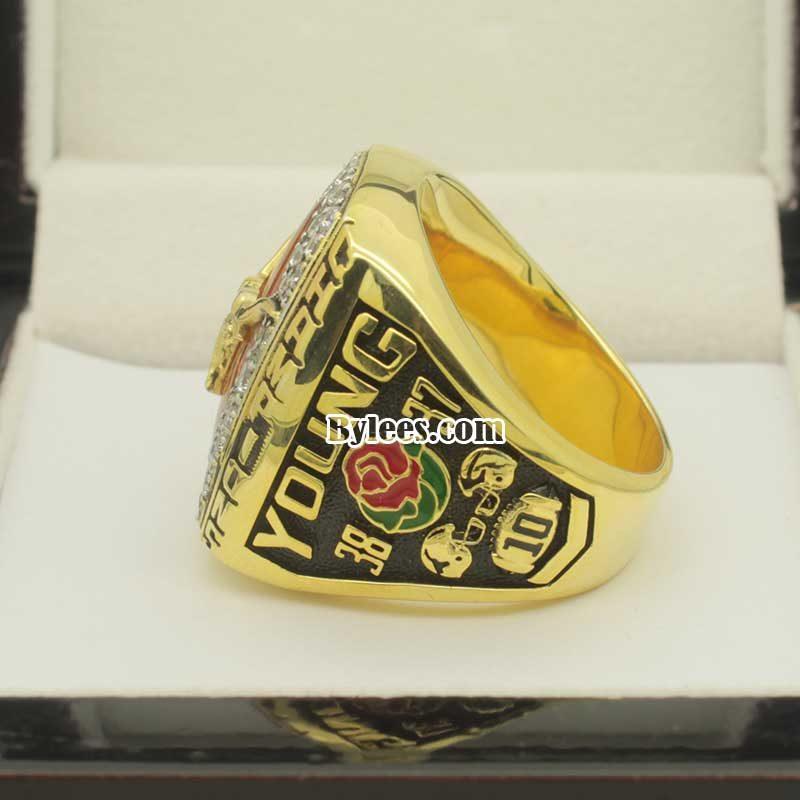 Texas Longhorns 2005 Rose Bowl championship ring