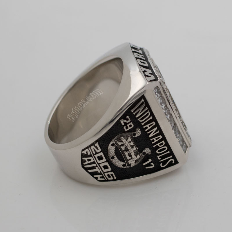 Marvin Harrison 2006 Super Bowl XLI ring