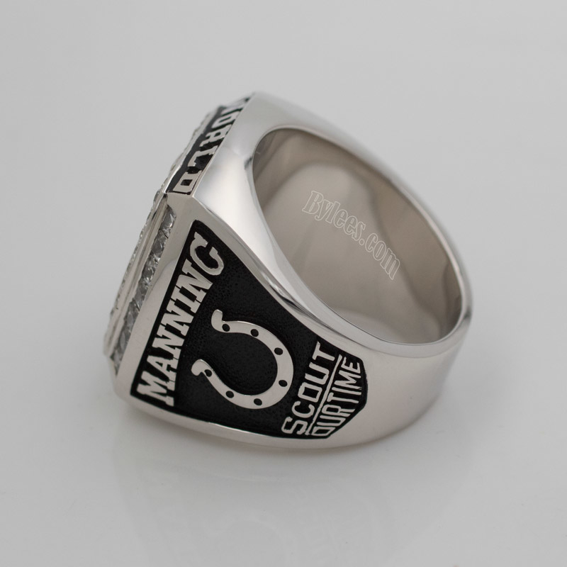 Indianapolis Colts peyton manning Super Bowl XLI Championship ring