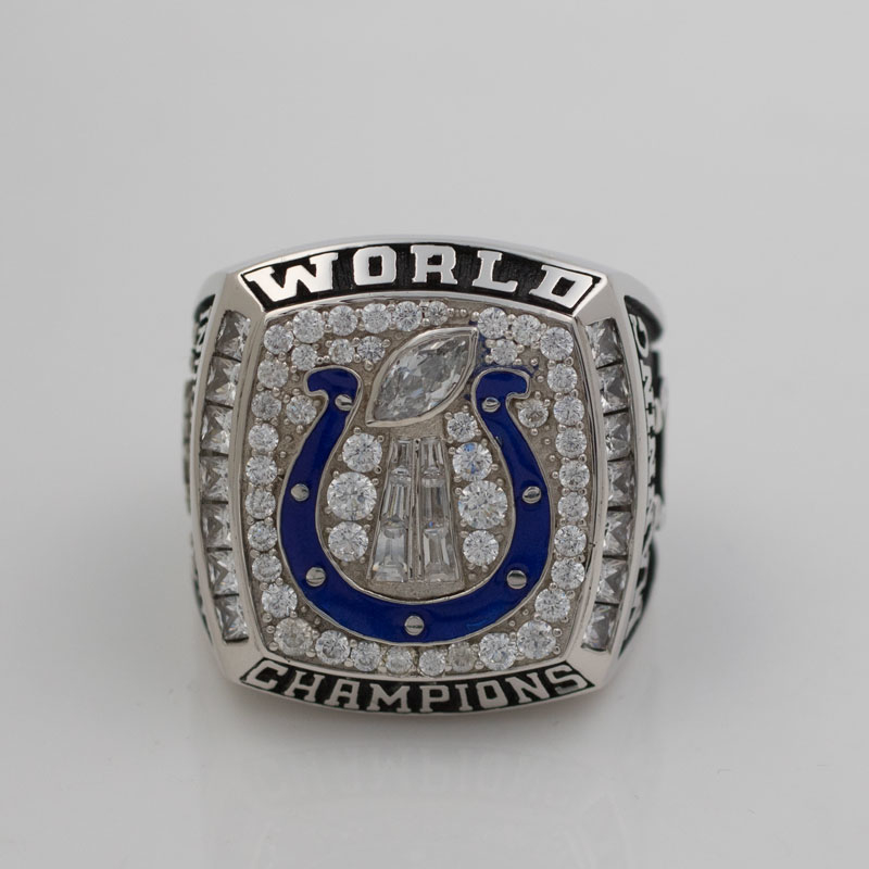 2006 Super Bowl XLI Indianapolis Colts Championship Ring