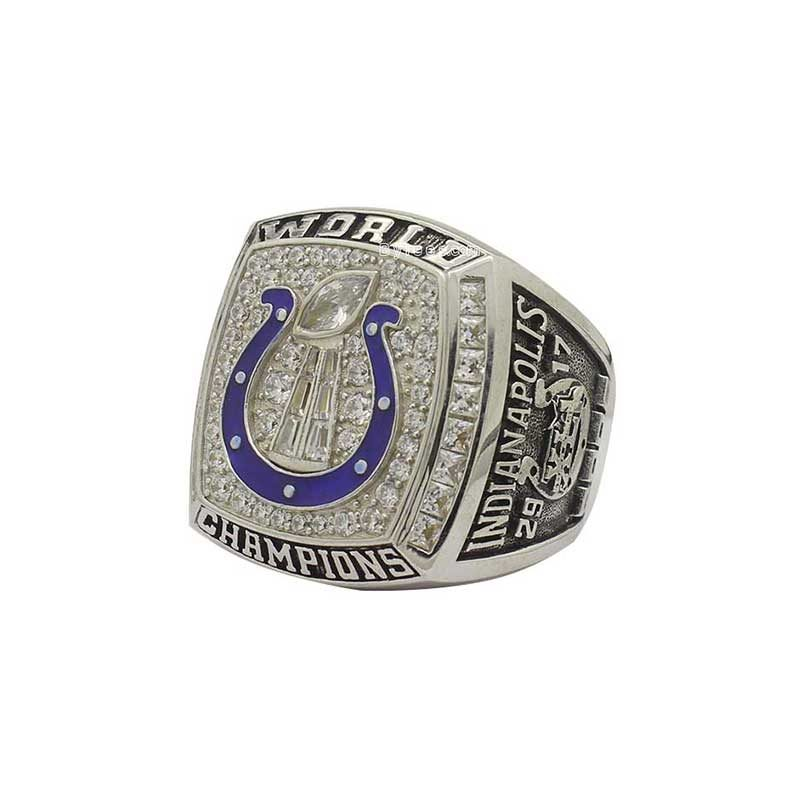 indianapolis colts 2006 super bowl xli ring