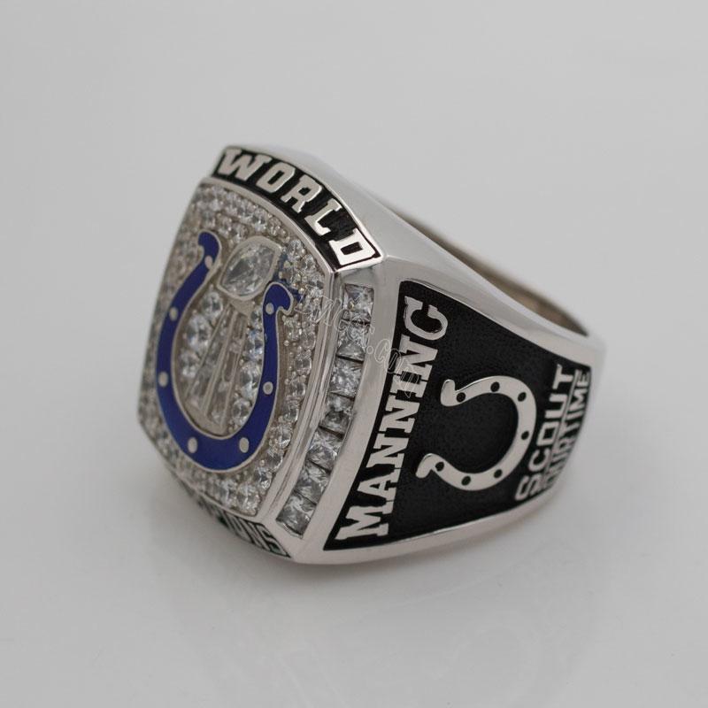 peyton manning 2006 super bowl XLI Championship ring