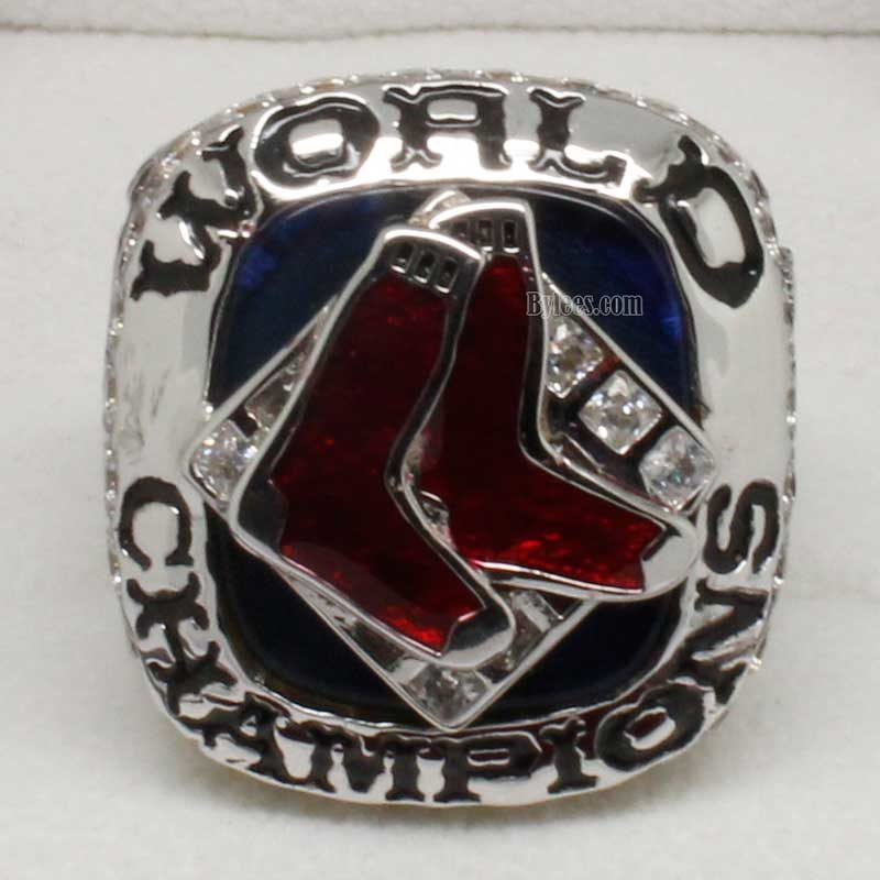 2007 Boston Red Sox World Series Fan Championship Ring