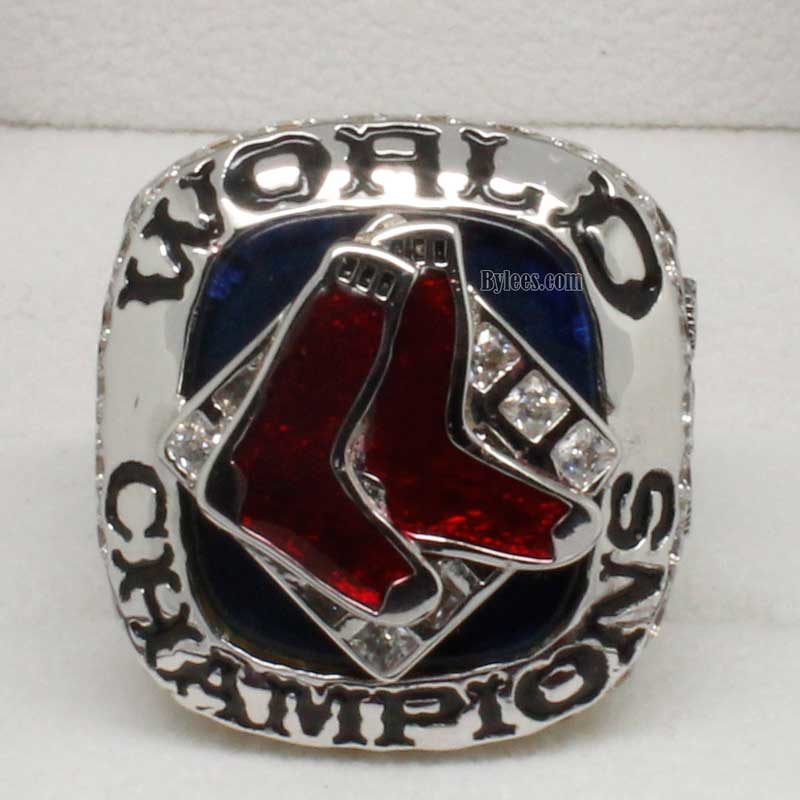 2007 Boston Red Sox World Series Fan Ring