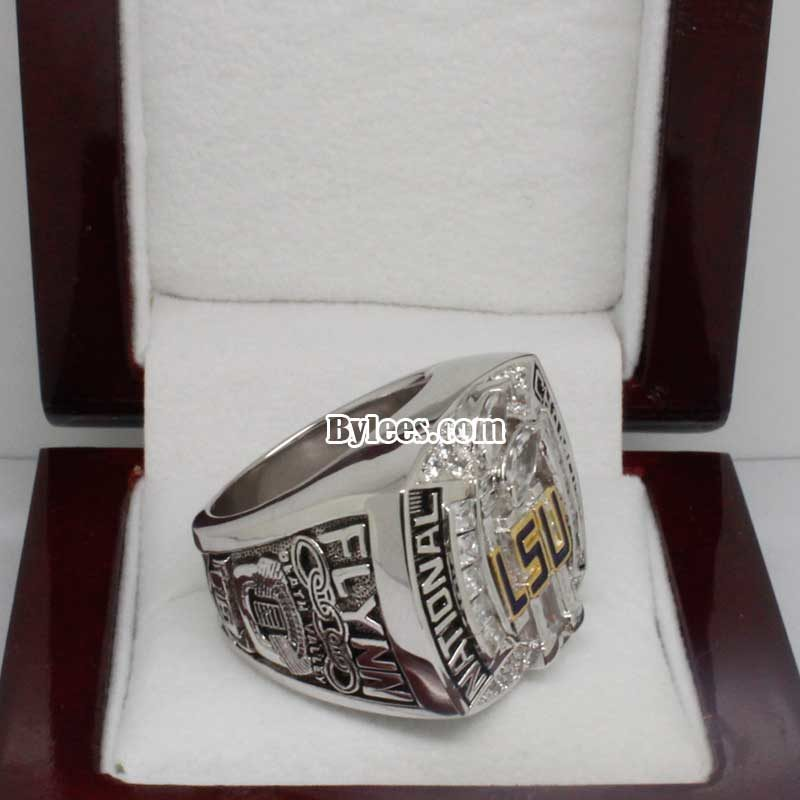 LSU 2007 National Championship Ring