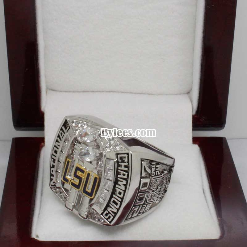 2007 LSU Football National Championship Ring