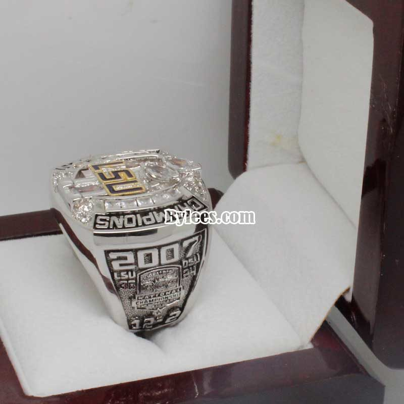 LSU Tigers 2007 National Championship Ring