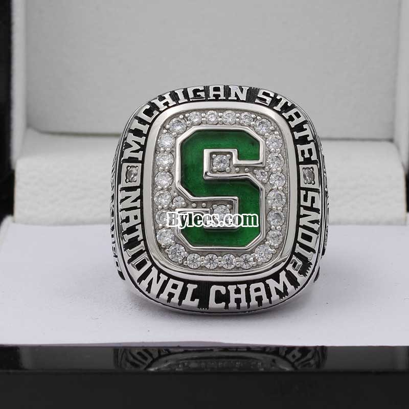 2007 Michigan State Ice Hockey National Champions Ring