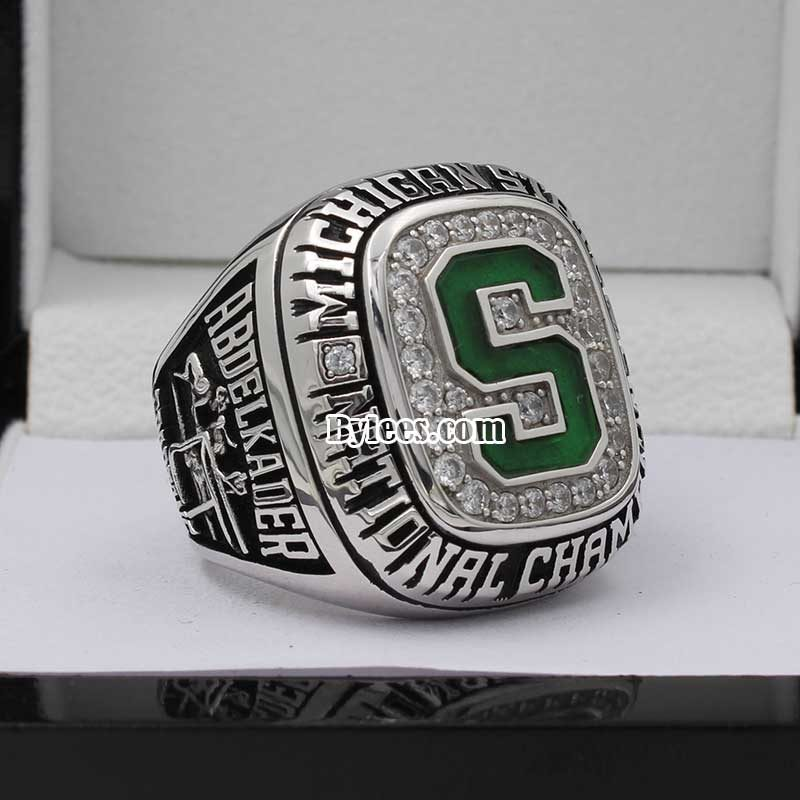 Michigan State 2007 Ice Hockey National Champions Ring