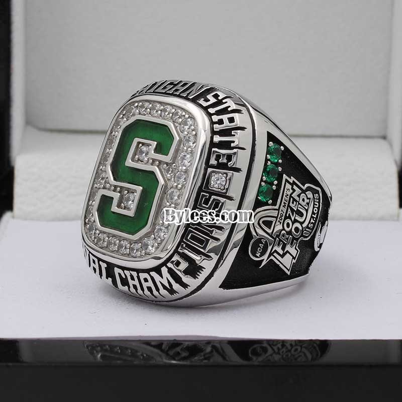 2007 MSU Ice Hockey National Championship Ring