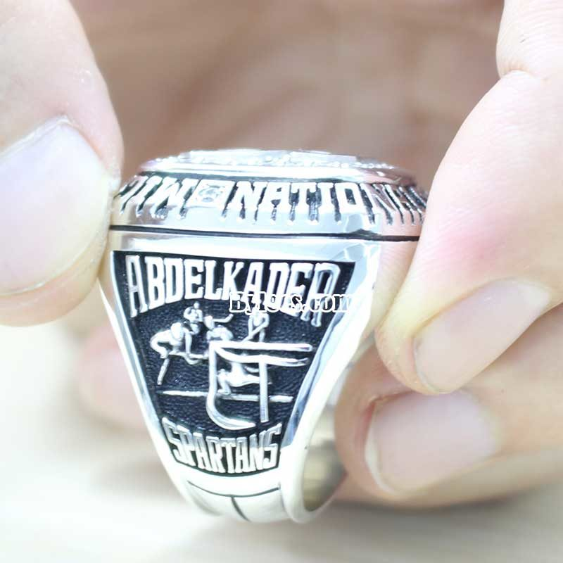 2007 Michigan State Spartans Ice Hockey National Champions Ring