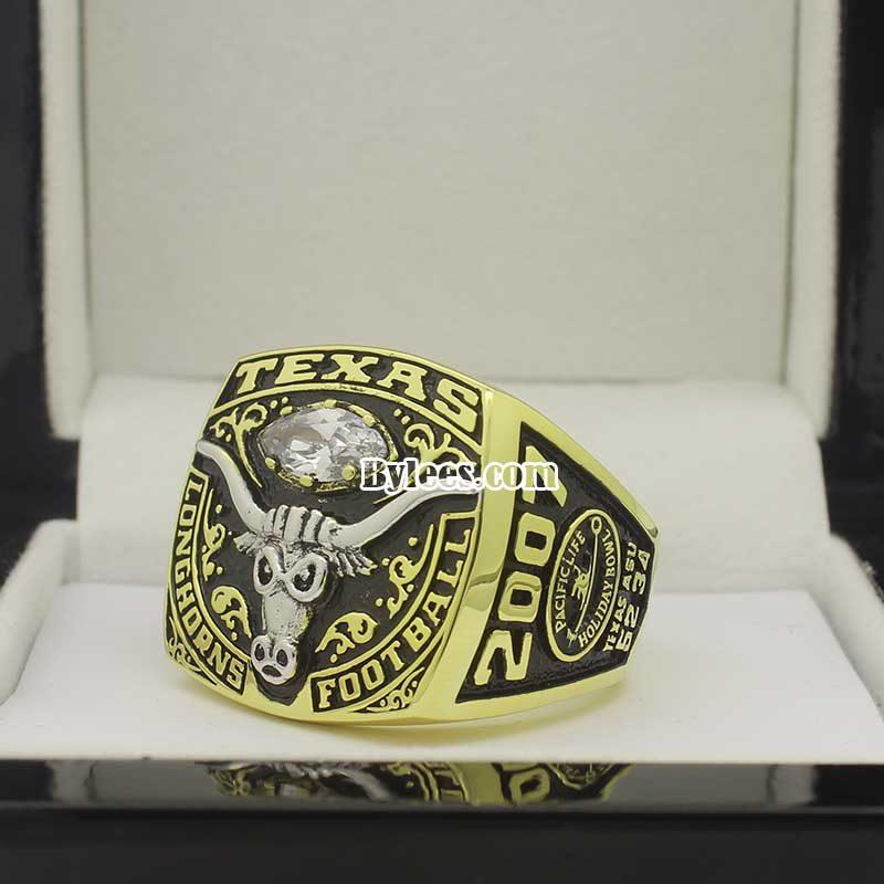 2007 Texas Longhorns holiday bowl ring