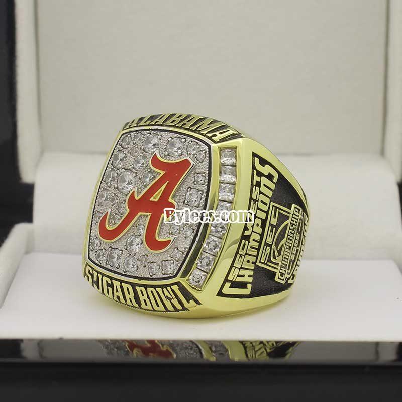 2008 Alabama Sugar Bowl Championship Ring