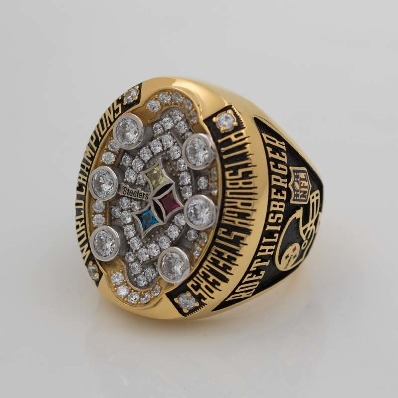 2008 ben roethlisberger super bowl ring