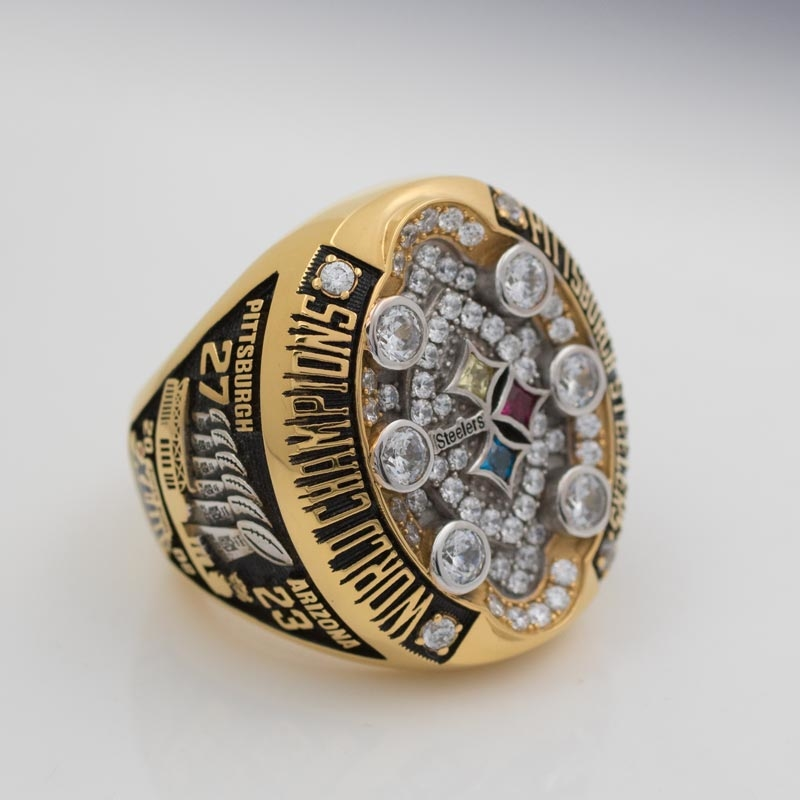 Pittsburgh Steelers Super bowl XLIII Championship Ring