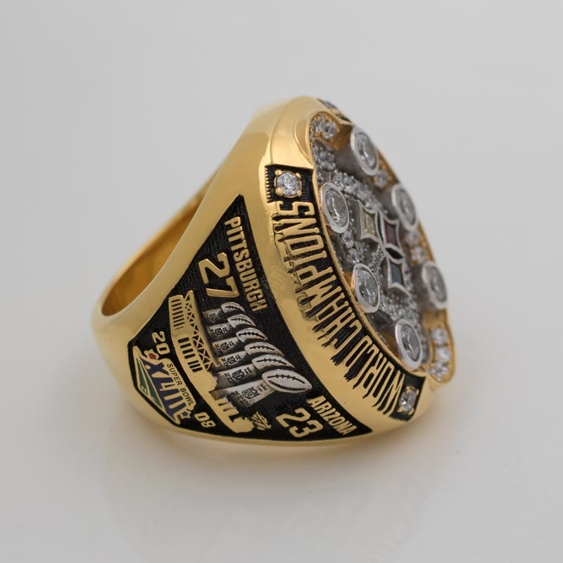 2008 Super Bowl XLIII Pittsburgh Steelers Championship Ring