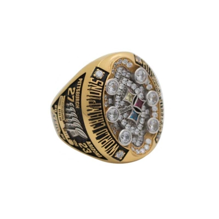 ben roethlisberger super bowl XLIII ring