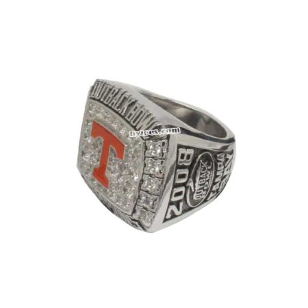 2008 Tennessee Volunteers Outback Bowl Championship Ring