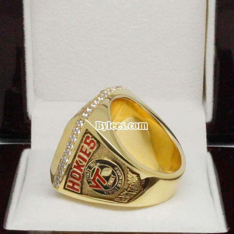 2008 Virginia Tech Football ACC Championship Ring