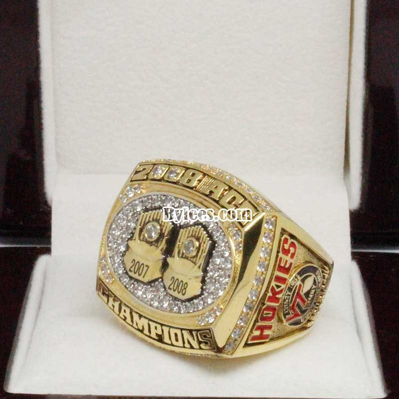 2008 Virginia Tech Hokies ACC Championship Ring