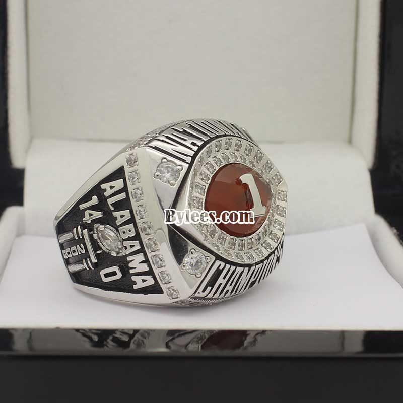 2010 bama Crimson Tide BCS National Championship Ring