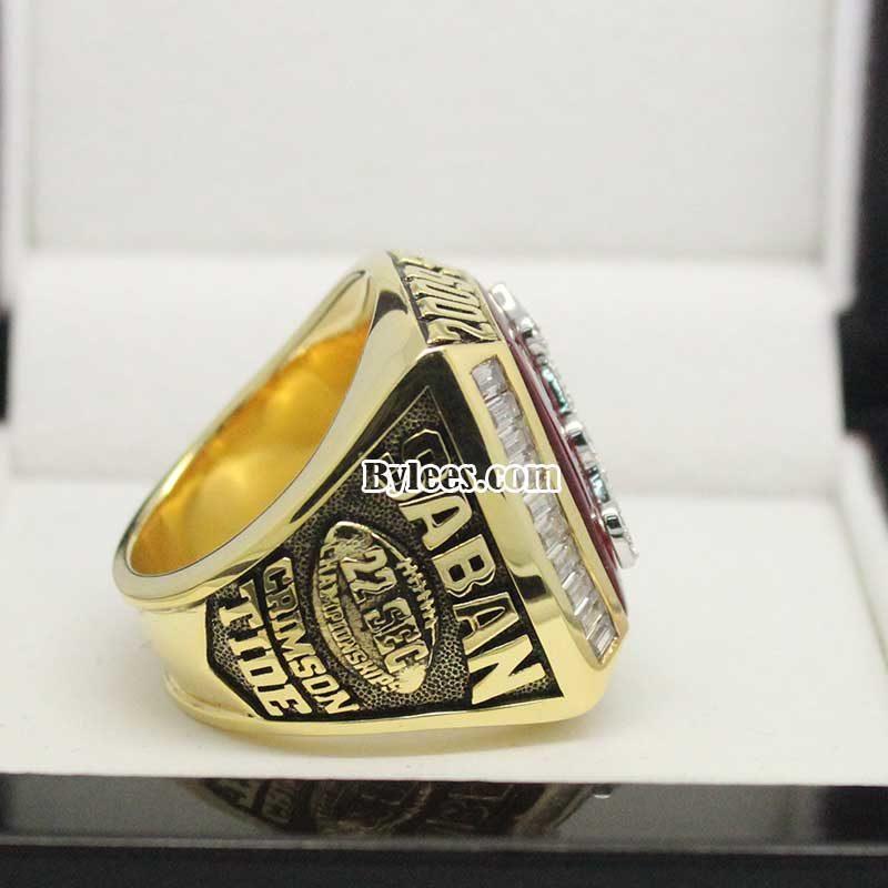 2009 Crimson Tide SEC Championship Ring