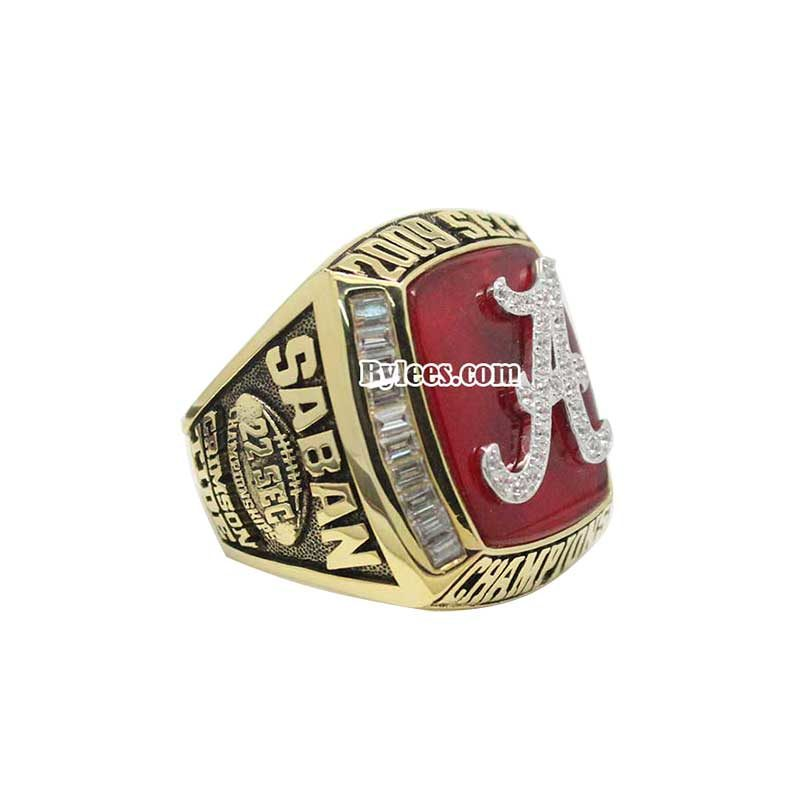 Alabama Crimson Tide SEC Championship Ring 2009