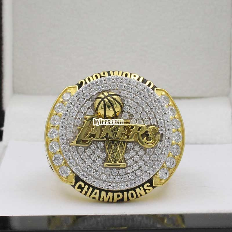 2009 lakers championship ring
